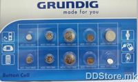 Grundig Button Cell (10 Pieces)