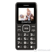 Mobile Phone Manta TEL1707 Senior Black