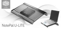 CoolerMaster Cooler for NotePal U-LITE, 100 mm removable fan, light weight design, R9-NBC-ULTK-GP