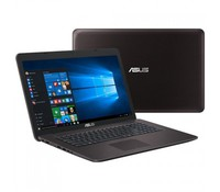 ASUS Gaming F756UX-T7010D (FHD, DARK BROWN), Intel Core i5-6200U (2.3GHz up to 2.8GHz, 2 cores, 3M Cache,  15w), 8GB DDR3 1600MHz (4GB on-board), 1TB 7200rpm, DVD SuperMulti, NVIDIA GeForce GTX 950M (N16P-GT) 4GB DDR3, Dark brown IMR, 3xUSB (1x3.0),