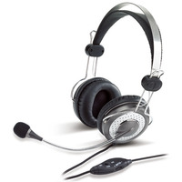 HP-03LIVE microphone,     Headband headset with Noise-canceling microphone; Noise-Canceling microphone; In-line microphone with mute function