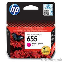 HP CZ111AE, No. 655, Ink Cartridge, Magenta, 600 str., za HP Deskjet Ink Advantage 3525, 4615, 4625, 5525, 6525 e-All-in-One