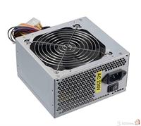 500W labeled 230W rp, 20+4pin, 12cm Fan, 2x Power SATA, 3xIDE  connectors