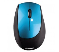 Hama 53852 M2150 Wireless Optical Mouse, petrol