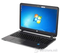 Hewlett Packard ProBook 450 G3/Windows 10 Pro (Black) -Intel® Core™ i5-6200U Processor (3M Cache, up to 2.80 GHz), Intel® HD Graphics 520, 8GB DDR4-2133 SDRAM, 128GB SSD, DVD-RW, 720p HD webcam, Backlit Keyboard, FP Reader, Wireless: Broadcom 802
