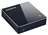 Gigabyte Mini PC Barebone BRIX, Intel i3-5010 (2.1 GHz, 3MB cash ) no HDD , no RAM, 1Y