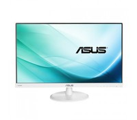 "ASUS 23"" Wide VC239H-W (White) with Stereo Speakers: 1,5W x 2, True Resolution: 1920x1080 (FHD), Display Surface Non-glare, Pixel Pitch: 0.2652mm, Brightness(Max) : 250 cd/m2, Contrast Ratio (Max): 1000:1, ASUS Smart Contrast Ratio (ASCR): 80000000:1"