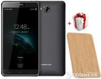 "Smartphone 5.5"" FHD HOMTOM HT10 Black 64bit Deca 10-Core 4GB/32GB/4G/2xSIM/8MP+SONY 21MP/A6.0+F.Case"