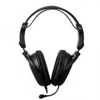 Ucom UC-8925 Headphones with microphone USB Plug, PVC
