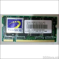 TwinMOS DDR 128MB, 128 MB, SO-DIMM SDRAM, 266 MHz, Latencija CL5