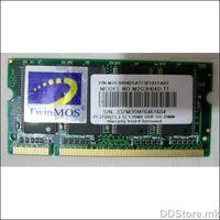 TwinMOS DDR 128MB, 128 MB, SO-DIMM SDRAM, 266 MHz, Latencija CL5