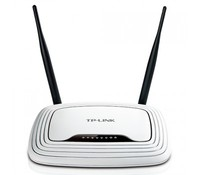 TP-Link TL-WR841ND 300Mbps Wireless N Router, Atheros, 2T2R, 2.4GHz, 802.11n/g/b, Built-in 4-port Switch, with 2 detachable antennas