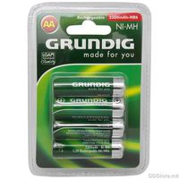 Grundig Battery Rechargeable AA/HR6 1,2V (4pcs) Alkaline 2300mAh model 31598