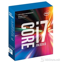 Intel Proccessor Core i7-7700K 4.2GHz Kaby Lake, 8MB, 8 GT/s, 14nm, LGA1151, 91W, Box W/O Cooler