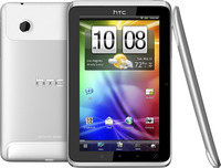 "HTC Flyer 16 GB (Wifi),  7"" LCD capacitive multitouch display + handwriting support, 420,8gr, 600x1024, Android 2.3 (Gingerbread), 5MP camera autofocus, Secondary 1.3MP camera, HD video 720P recording, BT, WLan, USB, GPS with A-GPS, 1GB RAM, 1.5GHz C"
