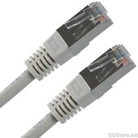 21.99.0101-200, VALUE FTP Patch Cord Cat.5e, grey, 1.0m