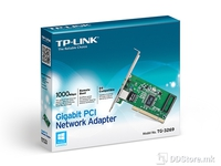 TP-Link Gigabit PCI Network Adapter, 10/100/1000 Mbps, RJ45 port