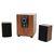 Speakers 2.1 Omega OG24-W Wood Brown 25W RMS