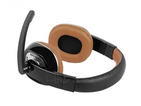 Headphones Natec Kingfisher w/Microphone Brown