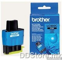 Brother Cartrige LC900CYJ1 Cyan (400 str.) for FAX-1835C/1840C/1940CN/2440C, MFC-3240C/3340CN/5440CN/5840CN, DCP-110C/115C/120C/310CN/315CN/340CW, MFC-210C/215C/410CN/425CN/620CN/640CW/820CW