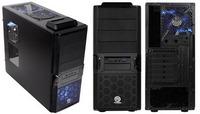 """Thermaltake V3 BlackX Edition, Midi tower, ATX,µATX, 5,25"""" vanjski utor 3, 3,5"""" vanjski utor 1, 3,5"""" unutarnji utor 4, USB 1, 2,5"""" unutarnji utor 1, USB 3.0 1, Hlađenje Ventilatori:Stražnji:120x120x25mm x1, crna"""