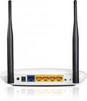 TL-WR841ND 300Mbps Wireless N Router, Atheros, 2T2R, 2.4GHz, 802.11n/g/b, Built-in 4-port Switch, with 2 detachable antennas