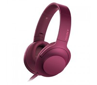 SONY MDR100AAPP.CE7, High Resolution Overhead Headphones, Pink
