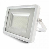 White Body SMD 4500K IP65 1600 lm LED Floodlight V-TAC SLIM 20W SKU : 5677