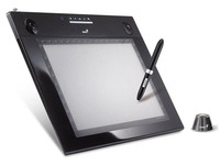 "Genius Professional Graphic tablet G-pen M712x, 7.25"" x 12""/5.5"" x 7.25"" Dual mode & Media tablet ( with Photoshop Elements 6.0)"