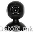 DLV-B15 300K pixels webcam, usb, silver/black, with special video function, gift box packing, Delux logo