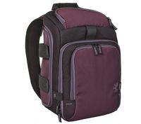 CASE LOGIC COMPACT CAMCORDER BACKPACK (15X16X8)CM - PLUM SLR backpack designed for the active consumer looking for functionality, durability and protection, Holds SLR camera body with attached standard lens and up to 4 additional lenses (max height w