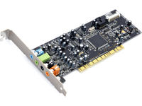 Sound Blaster Audigy Se 7.1 channel surround sound card with 3D sound support /Audio Quality: 24 Bit/ Audio Channels: 7.1/ Analog-to-digital Conversion (adc): 24-bit/ Digital-to-analog Conversion: 24-bit/ Compatibility: Pc