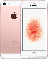 Apple iPhone SE - 16GB Rose Gold (Never SIM lock version), Display: 4.0 inches, LED-backlit IPS LCD, capacitive touchscreen, 16M colors, Resolution: 640 x 1136 pixels, Multitouch, Chipset: Apple A9, CPU: Dual-core 1.84 GHz Twister, GPU: PowerVR GT760