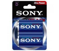 SONY AM1B2D, 2x 1.5V D Stamina plus alkaline battery Blister