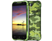 "Smartphone 5.0"" HD Blackview BV5000 Camouflage 64Bit Quad 1.3GHz/2GB/16GB/4G/Dual SIM/2MP+8MP/A5.1"