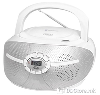 Portable Radio/CD/MP3 Player Trevi CMP 552 White