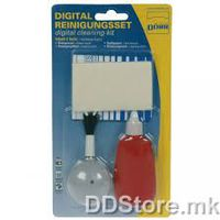 DORR Cleaning SET for photo cameras 5in1