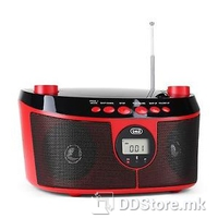 Trevi Portable Radio/CD/BT Player CMP546BT Red