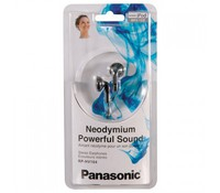 PANASONIC RP-HV104E-K, Earphones, black color