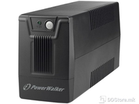 UPS PowerWalker 600VA/360W 2xSkhuko 1xRJ45/RJ11 USB Line-Interactive