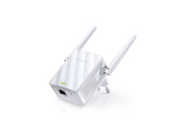 TP-Link Wi-Fi Range Extender 300Mbps Wireless N Wall Plugged, QCOM, 2T2R, 2.4GHz, 802.11b/g/n, 1 10/100M LAN, Ranger Extender button, Range extender mode, 2 fixed antennas