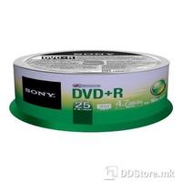 DVD+R 4.7GB 16x Sony 25DPR47SB 25pcs Bulk