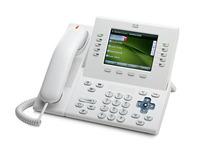 Cisco UC Phone 8961, White, Slimline handset
