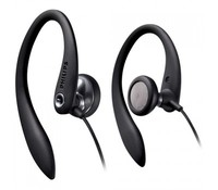 Philips SHS3300BK/10, Black, Earhook Headphones