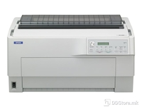 Epson DFX-9000 dot matrix printer, 9 pins X 4 LINES, 136 column, original + 9 copies (front tractor), 1550 cps HSD (10 cpi), Epson ESC/P - IBM PPDS emulation, 4 fonts, 8 Barcode fonts, 2 paper paths, automatic paper thickness detection, continous she