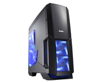 ATX Midi Tower Case SAMA V01 Viking Warrior Gaming Black w/o PSU