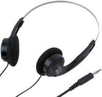 VIVANCO SRSH 50, Stereo headphones,  Frequency range: 12 – 22.000 Hz, Sensitivity: 105 dB, Impedance: 32 Ohm, Cord length: 1.2 m, Plug: 3.5 mm stereo, golden