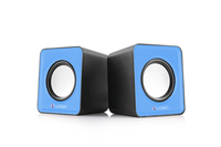 LOGIC 2.0 Speakers LS-09, Color: Blue, Output power: 3W x 2, Interface: 3.5 mm audio jack, Power Voltage: USB