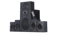 Genius SW-HF5.1 4500 Wooden speakers, 125W, LED Dislay shows volume, remote control