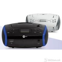 Mpman Portable Radio/CD Player CSU-336 PLL Black & Red